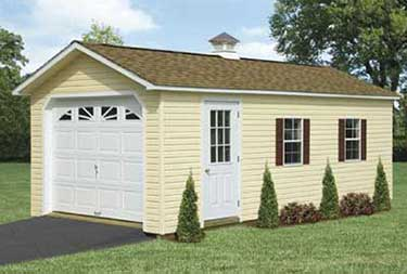 Custom Single Garage in ocean county NJ