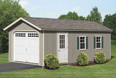 12' x 24' DuraTemp A-Frame Garage custom garages in burlington county NJ