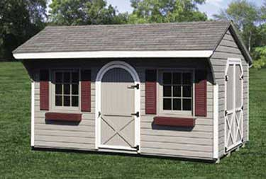 10' x 16' Pine Carriage Shed atlantic county nj