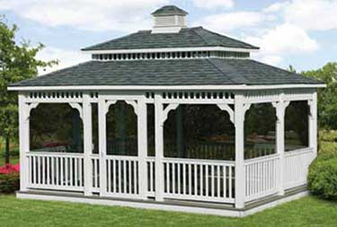 12' x 16' Rectangle Vinyl Gazebo for sale in Camden county NJ