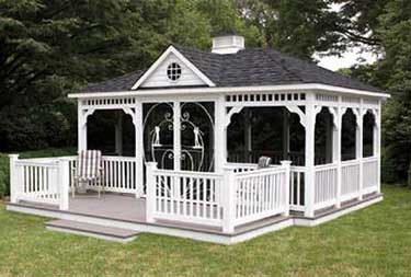 12' x 18' Rectangle w/ 6' x 16' Porch with Steps burlington county nj