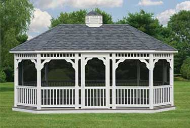 12' x 24' Oval Gazebo atlantic county nj
