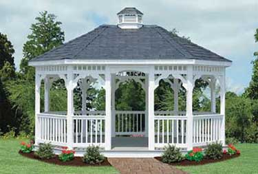 12' x 16' Oval Gazebo sold berlin NJ